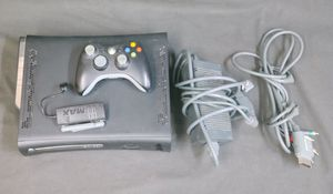 Microsoft Xbox 360 Elite 120GB Black Console w/Controller, Cables, & Wifi Adapater B2-8607 for Sale, used for sale  Upland, CA