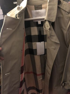 Never worn Burberry coat, boys XL. for Sale in Washington, DC