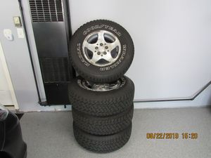 Tires p235/75/R15 for Sale in Schaumburg, IL