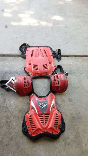 Fox Large Chest Protector for Dirt Bike for Sale in Henderson, NV