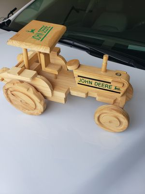 John Deere Tractor Wood Toy. for Sale in Corona, CA