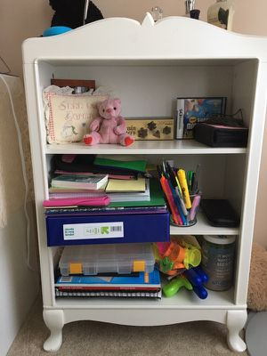 White kids bookcase for Sale in Wexford, PA
