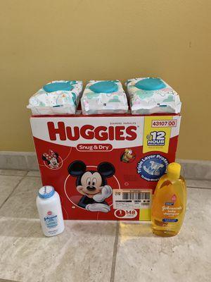 Huggies Snug & Dry # 1 for Sale in Mill Creek, WA