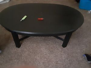 Black Wooden Coffee Table for Sale in Houston, TX