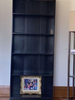 2 black book shelves for Sale in Santa Maria, CA