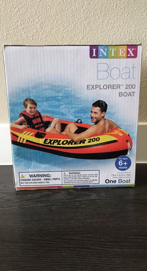 Boat New Inflatable Explorer 200 brand new for Sale in Las Vegas, NV