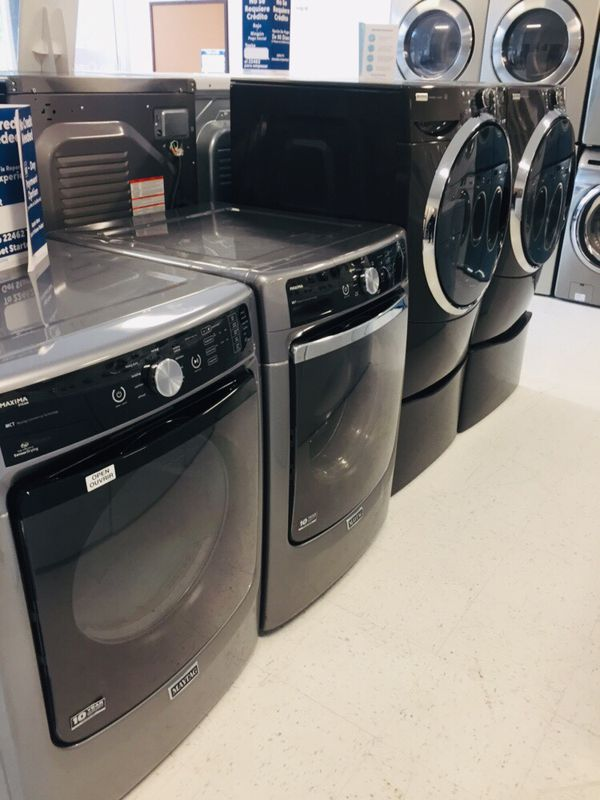 🔥🔥Maytag washer and electric dryer set excellent condition 90 days warranty 🔥🔥