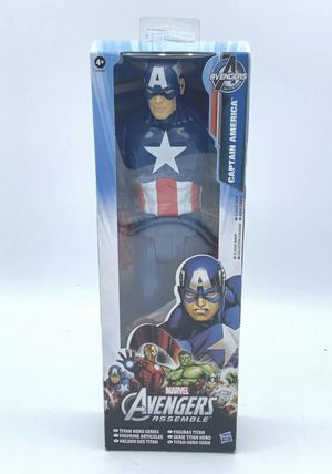"Marvel Avengers Assemble Titan Hero Series / 12"" Captain America Action Figure for Sale in Oxnard, CA"