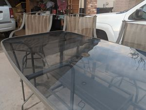 Patio glass table for Sale in Chandler, AZ