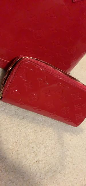 Red Alma LV Bag with wallet for Sale in Atlanta, GA
