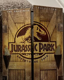 Jurassic Park Adventure Pack The Franchise Collection DVD 2005 3-Disc Set for Sale in Chapel Hill,  NC