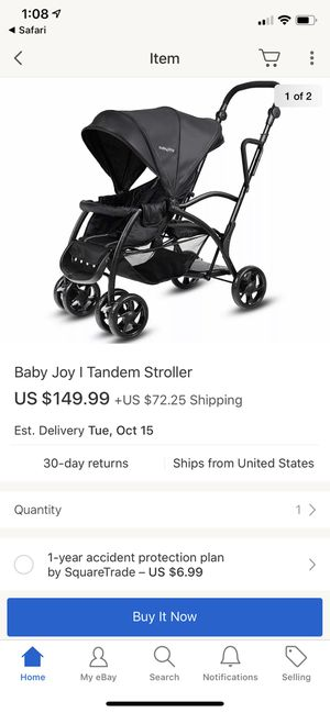 BabyJoy Double stroller Roomfor2 Stand and Ride Stroller for Sale in Clermont, FL