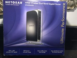 Netgear WNDR4500 Gigabit WiFi Router for Sale in Stafford, VA