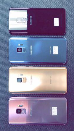 Samsung Galaxy S9 64GB Factory Unlocked / ATT T-Mobile Verizon Sprint Starting @ for Sale in Arlington,  TX