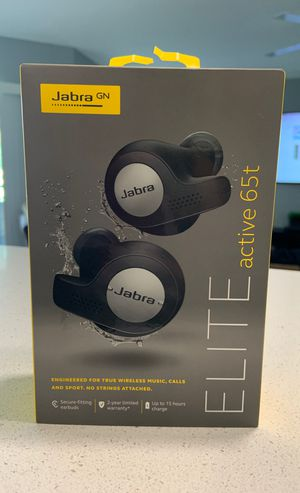 Unopened Jabra Elite wireless headphones! for Sale in Delray Beach, FL