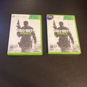 XBOX 360 Call Of Duty MW3 Disc Case for Sale in Glendale, AZ