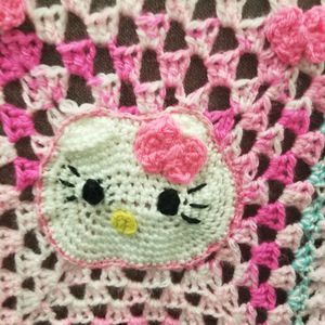 hello kitti hand made baby blanket for Sale in La Verne, CA