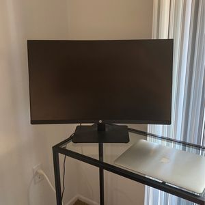 27in Curved Monitor By HP - LIKE NEW for Sale in Midway City, CA