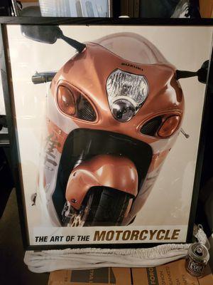 The Original 1999 Suzuki Hayabusa Poster very rare & 80 more items for Sale in Kirkland, WA