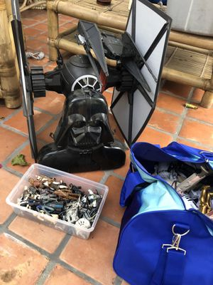 Star Wars Toy Collection! Vintage & Newer - Kenner - PotF - Vader Case - Figures Vehicles! for Sale in Playa del Rey, CA