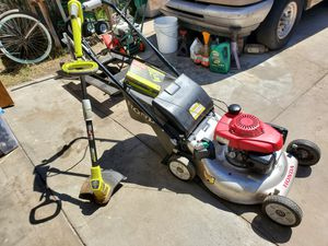 Lawn mower and weed eater for Sale in Bell Gardens, CA