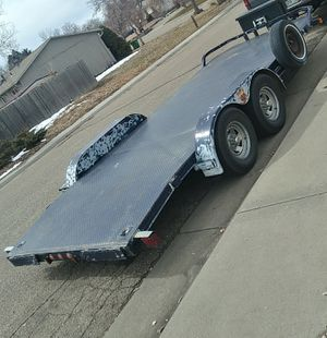 18 ft car trailer for Sale in Aurora, CO