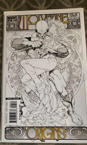 Marvel comic book Wolverine Origins rare Joe Quesada variant cover for Sale in Upland, CA