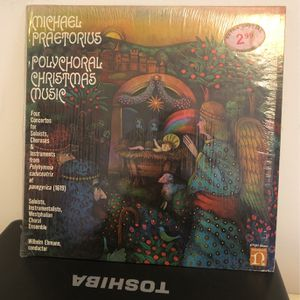 Michael Praetorius Polychoral Christmas Music LP Nonesuch Records H-71242 1970 for Sale in Franklin, NJ