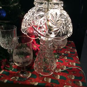 Vintage Crystal Lamp for Sale in Stockton, CA