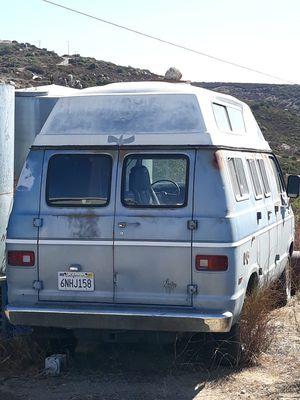 camper van for Sale in Ramona, CA