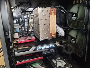 Corsair Carbide Air 540 ATX Cube built for gaming has original parts best quality (parts worth more) for Sale in Glendale, CA
