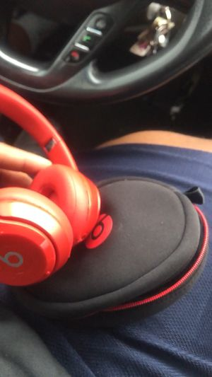 Beats solo wireless red headphones for Sale in Elkridge, MD