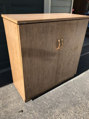 Wooden Cabinet with removable shelf for Sale in Denver, CO