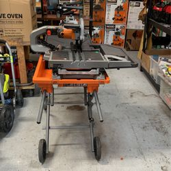 "Ridgid 10"" Wet Tile Saw for Sale in Ocoee,  FL"