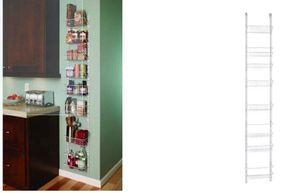 Kitchen Organizer Pantry Door Wall Storage Shelves Metal Wire Bathroom for Sale in Santa Fe, NM