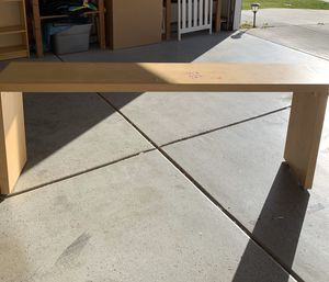 IKEA Desk- made to use in bed-(rolls) for Sale in Tracy, CA