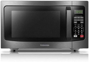 Toshiba 1100 watt 1.2 cuft Microwave Oven New in Box (Black Stainless) for Sale in Las Vegas, NV