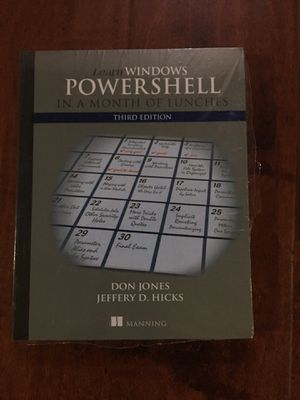 Learn Windows PowerShell in a Month of Lunches 3rd Edition ISBN-13: 978-1617294167, ISBN-10: 1617294160 for Sale in Walnut, CA
