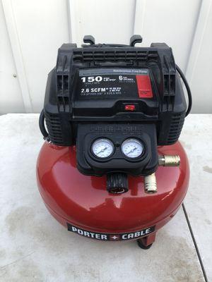Porter-Cable 6 Gal. 150 PSI Portable Electric Pancake Air Compressor for Sale in La Habra, CA