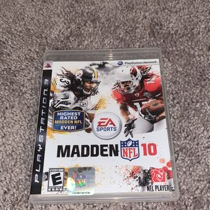 Madden NFL 10 PS3 Game for Sale in DeKalb, IL