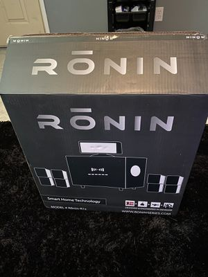 Ronin smart home technology home theater. for Sale in Madera, CA