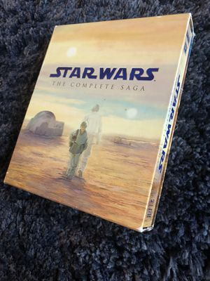 Star Wars the complete saga + Rogue One A Star Wars Story + Solo A Star Wars Story for Sale in Anchorage, AK