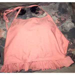 Peach Halter Bikini Top (size L) for Sale in Fort Washington, MD
