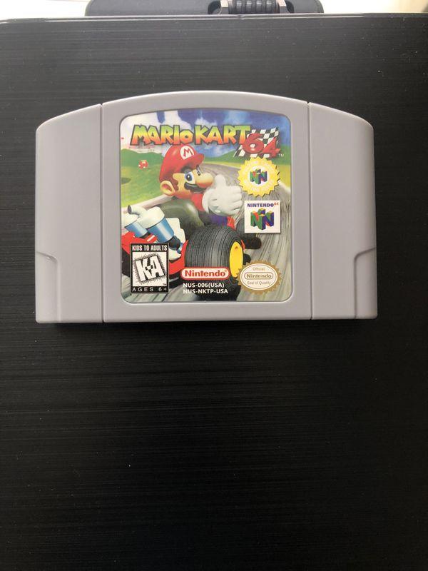 Nintendo 64 Mario Party 1, Mario kart & Super smash bro's!