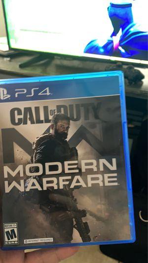 Call of duty modern warfare ps4 for Sale in Phoenix, AZ