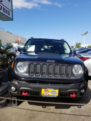 2017 JEEP RENEGADE TRAILHAWK 42K $16,898 for Sale in ALAMEDA, CA