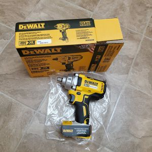 Dewalt Impact Wrench 1/2 for Sale in Renton, WA