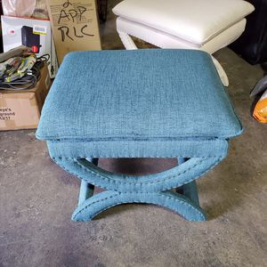 Valencia 19-1/2 in. Vanity Stool in Northgate Peacock- for Sale in Galloway, OH