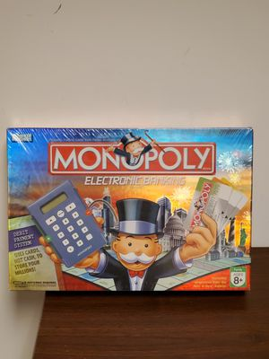 Sealed Monopoly Electronic Banking Board Game 2007 for Sale in W CNSHOHOCKEN, PA