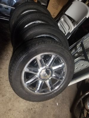 """20"""" DENALI RIMS GREAT CONDITION for Sale in Bellwood, IL"""